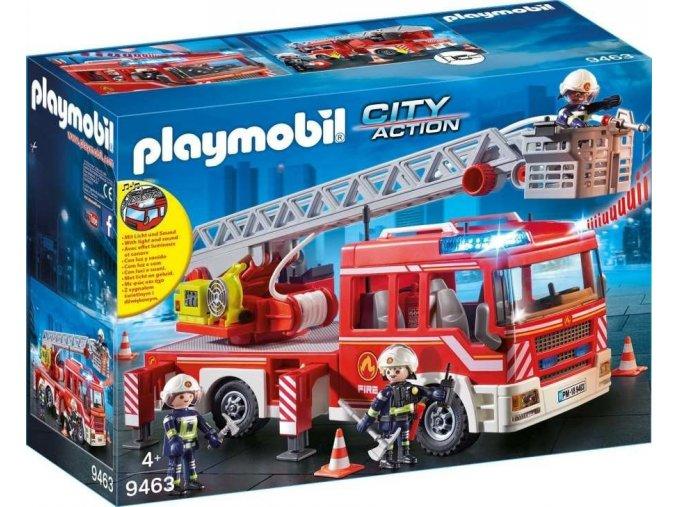 PLAYMOBIL® 9463 Požární auto s výsuvných žebříkem