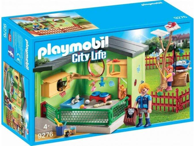 PLAYMOBIL® 9276 Kočičí penzion