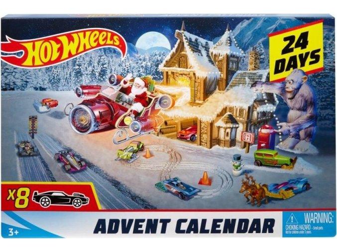Hot Wheels Adventní kalendář 2018