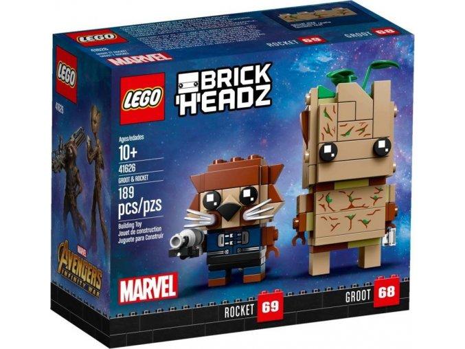 LEGO BrickHeadz 41626 Groot a Rocket