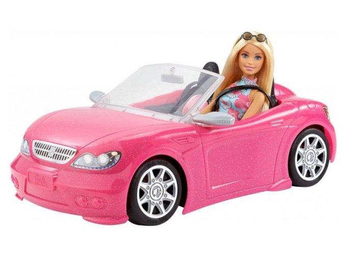 barbie v kabrioletu panenka barbie kabriolet