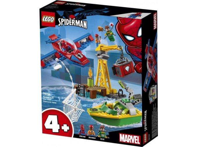 LEGO Super Heroes 76134 Spider-Man: Doc Ock Loupež diamantů