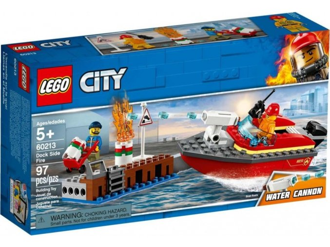 LEGO City 60213 Požár v přístavu