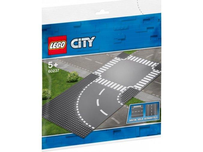 LEGO City 60237 Zatáčka s křižovatkou