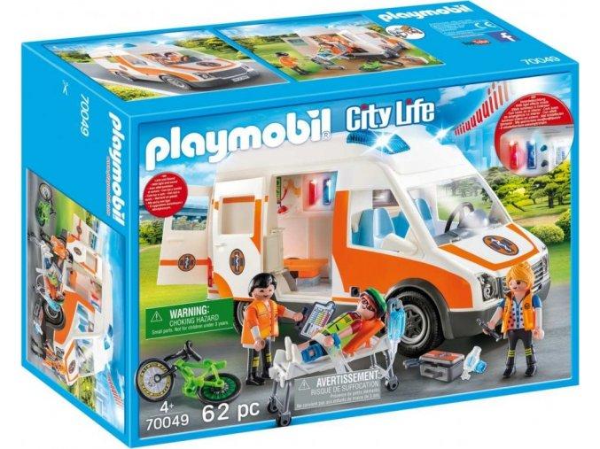 PLAYMOBIL® 70049 Záchranářská sanitka