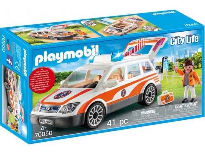 PLAYMOBIL® 70050 Rychlá lékařská pomoc v autě
