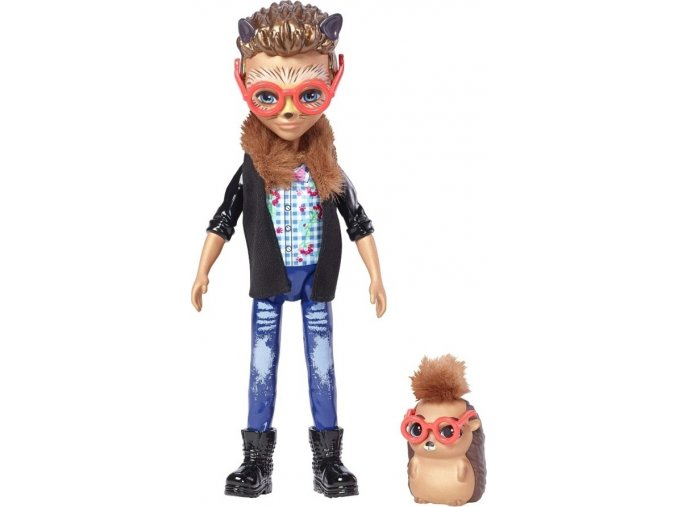 EnchanTimals chlapeček se zvířátkem Hixby Hedgehog a Pointer