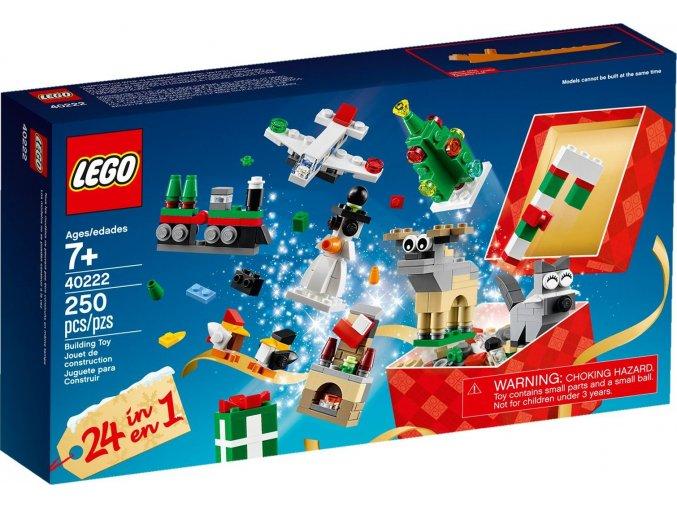 40222 lego vanocni staveni building toy