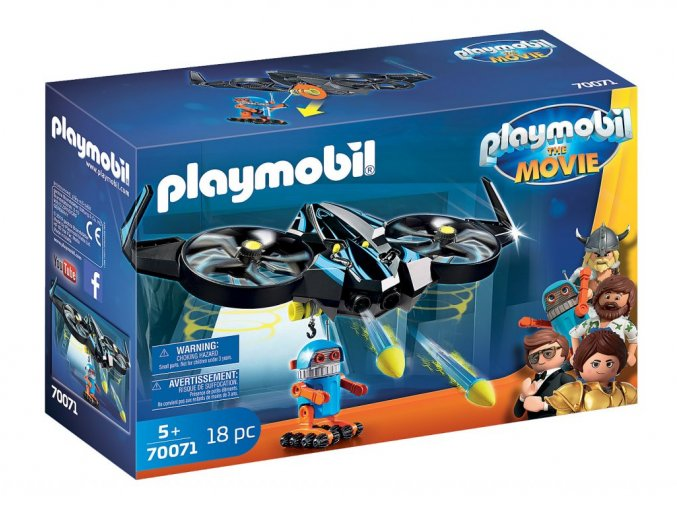 70071 1 playmobil the movie robotitron mit drohne