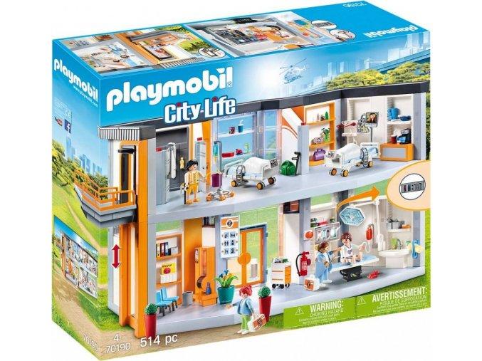 PLAYMOBIL® 70190 Velká nemocnice s vybavením
