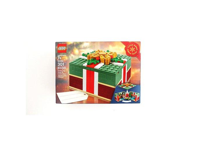 lego 40292 christmas present vanocni darek limited edition