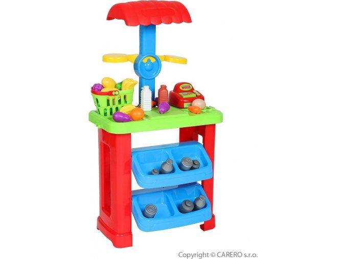 Dětský prodejní stánek Bayo + příslušenství 44 ks