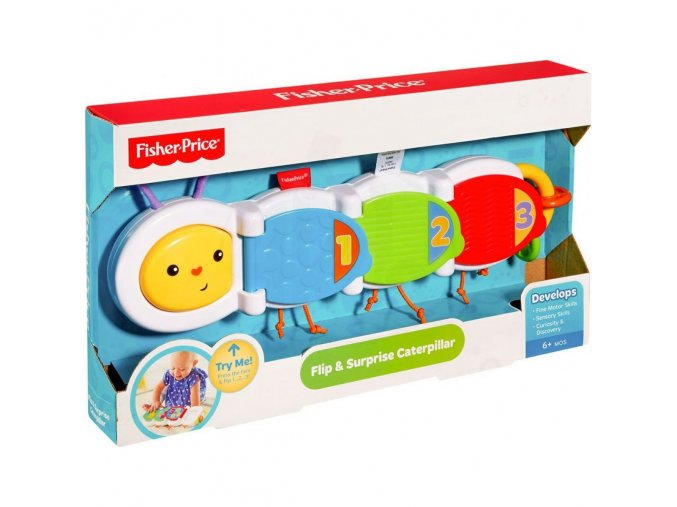 fisher price housenka s prekvapenim