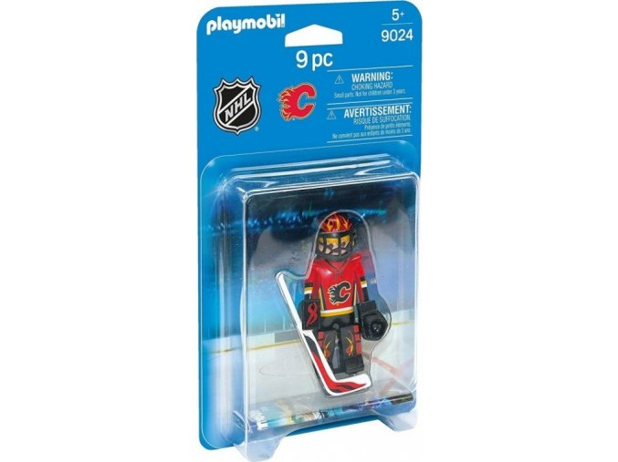 PLAYMOBIL® 9024 NHL Brankář Calgary Flames