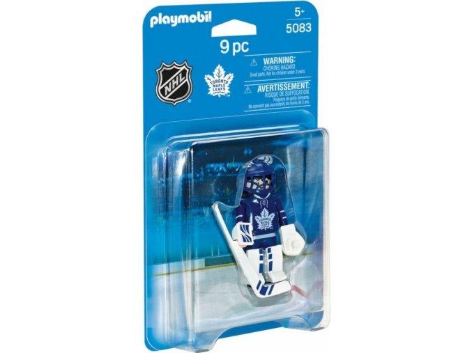 PLAYMOBIL® 5083 NHL Brankář Toronto Maple Leafs