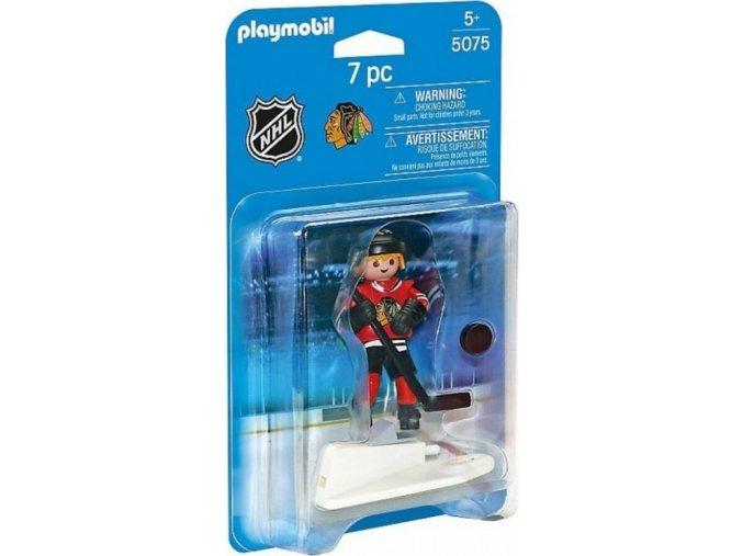 PLAYMOBIL® 5075 NHL Hokejista Chicago Blackhawks