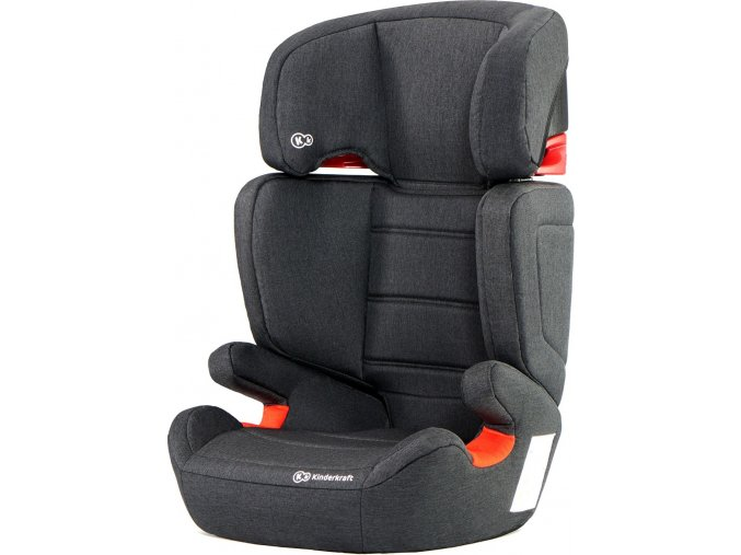 Kinderkraft Autosedačka Junior Fix Isofix Black 15-36kg 2019