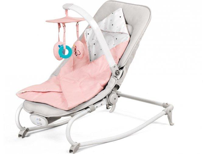 Kinderkraft Lehátko 3v1 Felio Pink Kinderkraft 2019