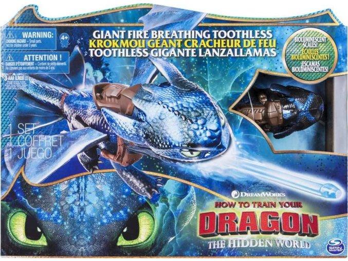 Draci 3 - Dragon Bezzubka chrlící oheň