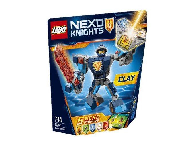 LEGO Nexo Knights 70362 Clay v bojovém obleku