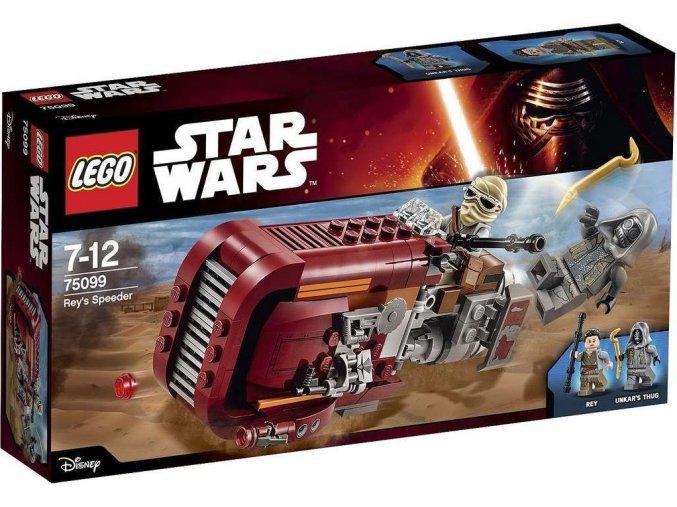 LEGO Star Wars 75099 Reyin speeder
