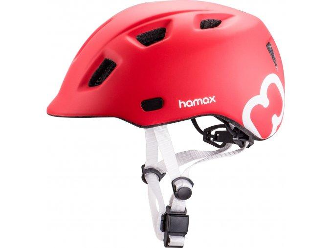 Hamax Cyklohelma Thundercap Red 52-57