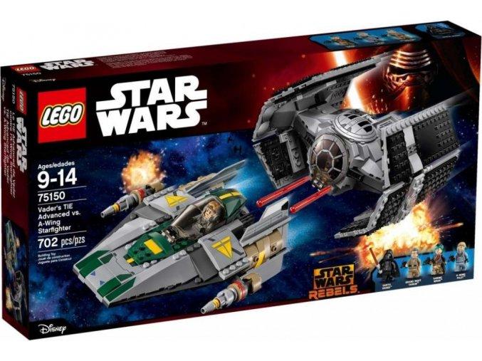 LEGO Star Wars 75150 Vaderova stíhačka TIE Advanced vs. stíhačka A-Wing