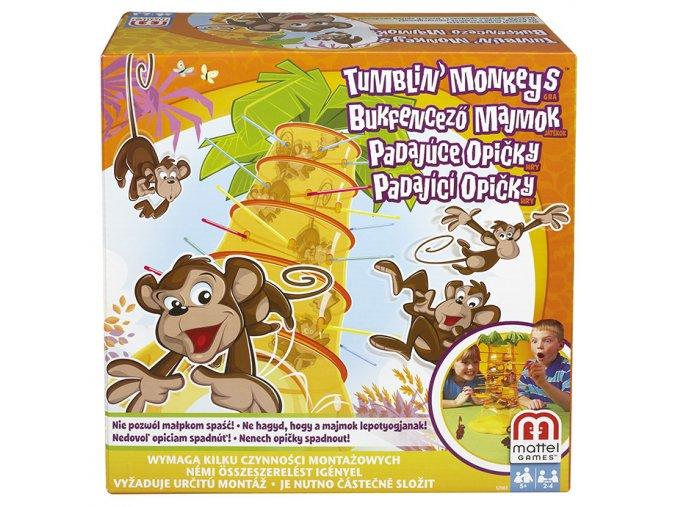 Padající opičky hra