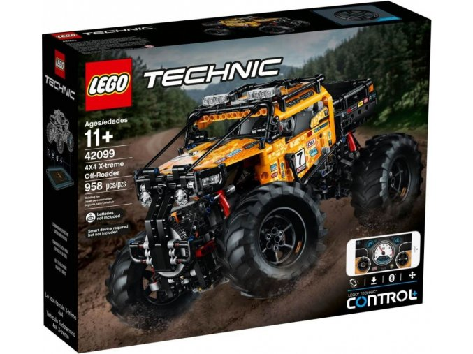 LEGO TECHNIC 42099 RC Extrémní teréňák 4x4
