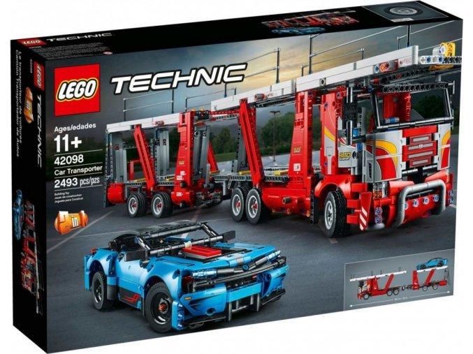 LEGO Technic 42098 Kamion pro přepravu aut