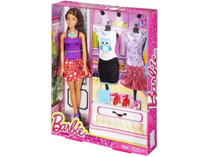 Barbie modelka s oblecky 2