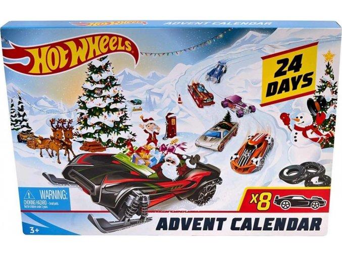 Hot Wheels Adventní kalendář 2019
