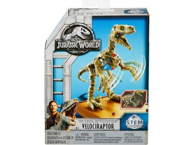 Jurský svět Velociraptor kostra