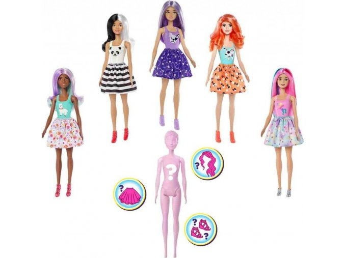 Barbie COLOR REVEAL, vlna 1