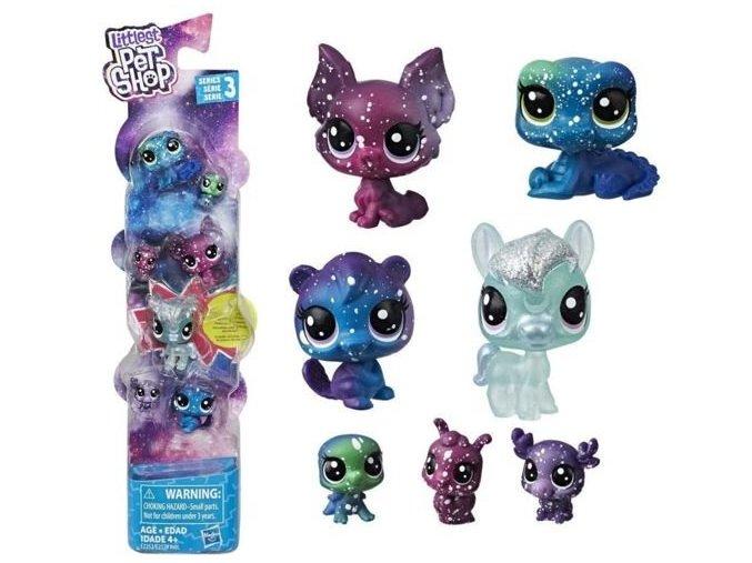 Littlest Pet Shop kosmicka zviratka svitici ve tme 4
