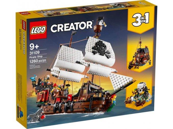 LEGO Creator 31109 Pirátská loď