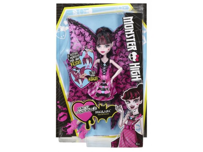 Monster High netopyrka draculaura