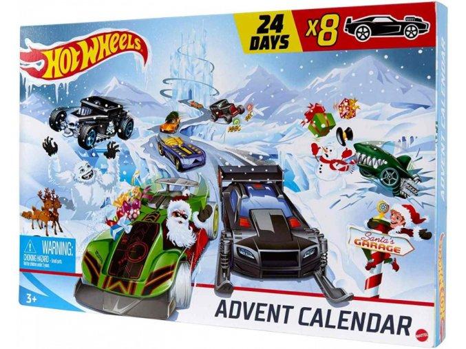 mattel hot wheels adventni kalendar gjk02 original 01