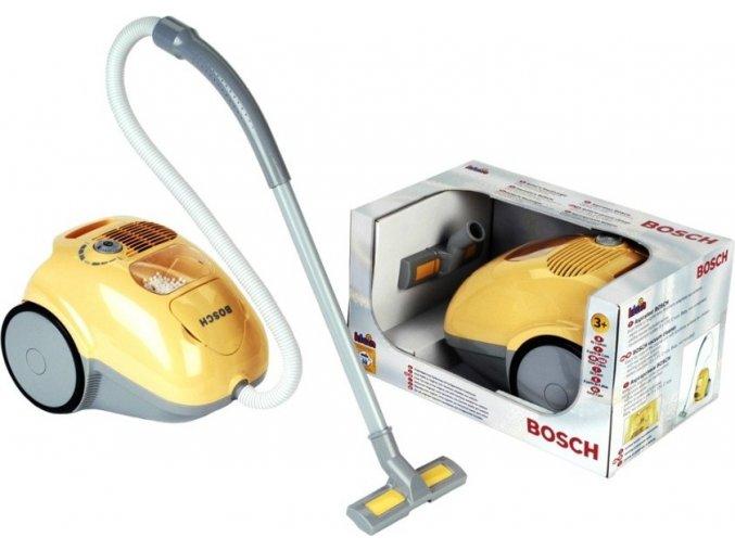 Dětský vysavač Bosch žlutý s funkcemi