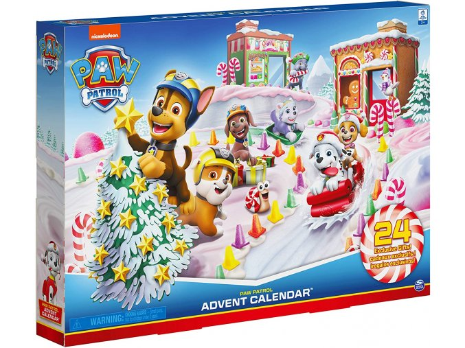 paw patrol advent calendar 2020 20127916 06