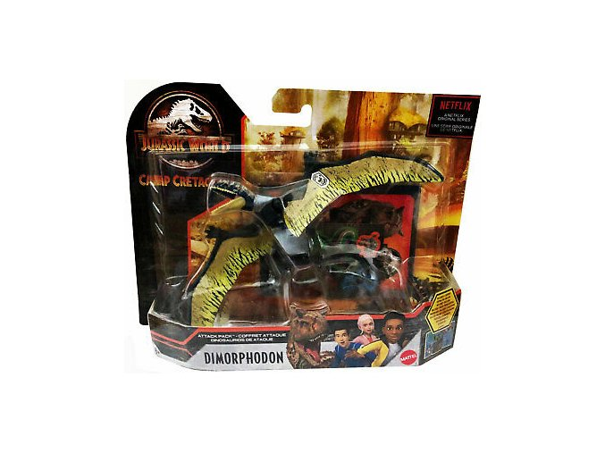 jursky svet vetrelci Dimorphodon 1