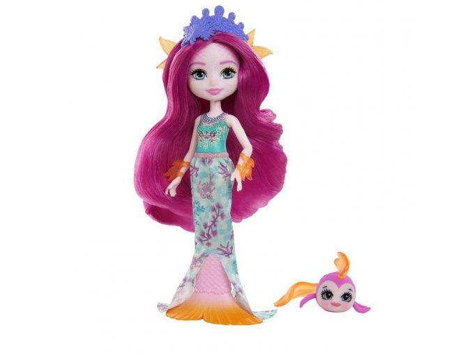 EnchanTimals Royal panenka se zviratkem Maura Mermaid a Glide 1