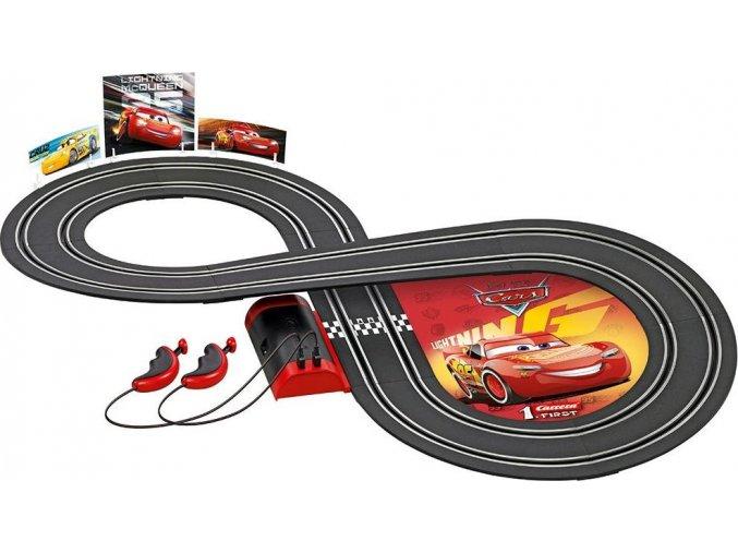 Autodráha Carrera FIRST Cars Cruz Ramirez 2,4 m