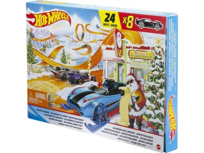 Hot Wheels Adventní kalendář 2021