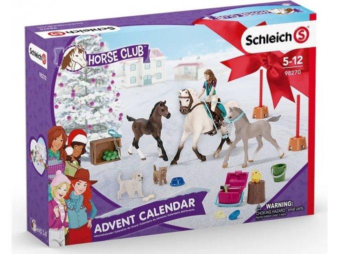 Schleich 98270 Adventní kalendář Koně 2021