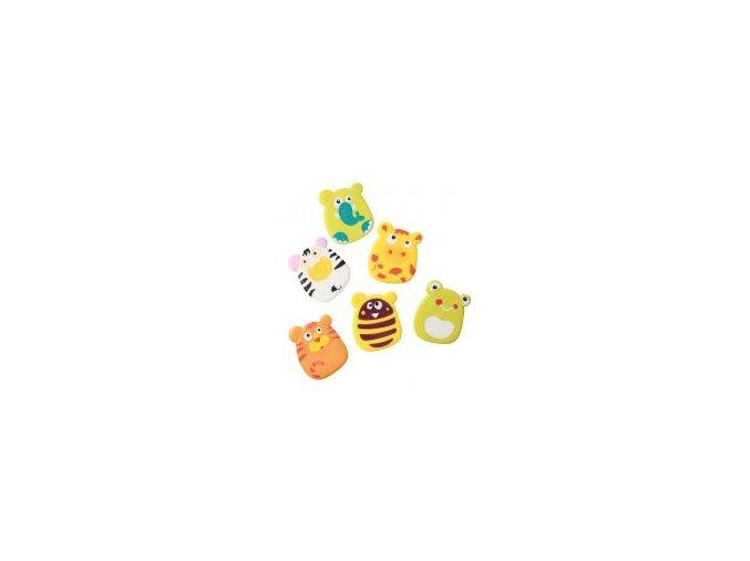 Hračky do koupele - zvířátka s přísavkami pro chlapce 6ks