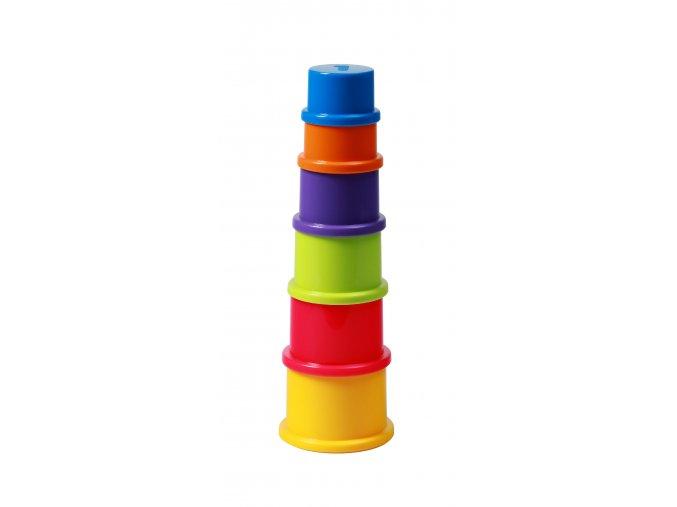 Hračka pohárky skládací 6ks 9m+