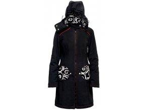 Liliputi kabát 3v1 na nošení dětí Elegance černý