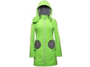 Liliputi kabát 4v1 na nošení dětí zelený