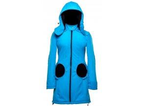 Liliputi kabát 4v1 na nošení dětí modrý